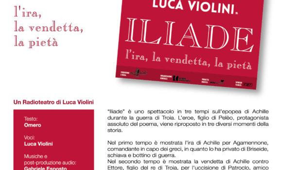L'Iliade con Luca Violini