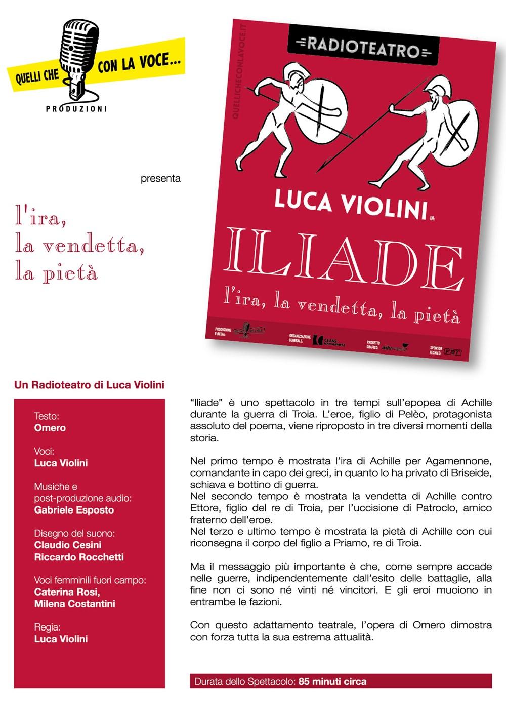 Presentazione Iliade