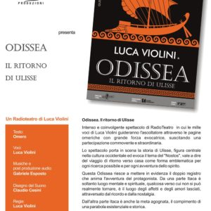 """""""Odissea – Il Ritorno di Ulisse"""" con Luca Violini"""